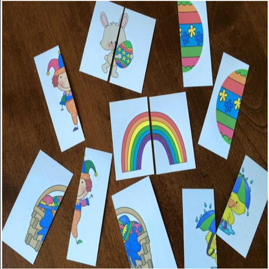 幼儿园自制玩教具 幼儿园区角区域拼图游戏活动教具