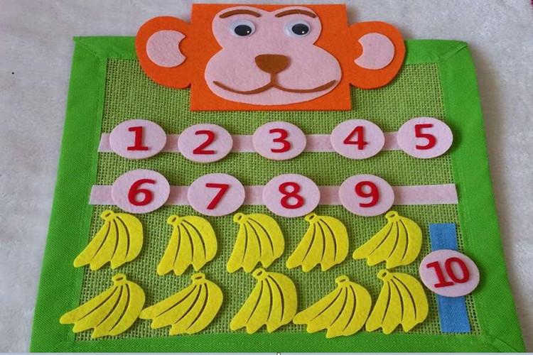 幼儿园数学玩教具 幼儿园区角玩教具分解教具 -思维猴自制玩教具 思维
