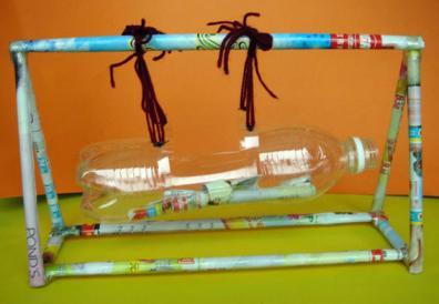 幼儿园自制玩教具 手工制作区角玩具