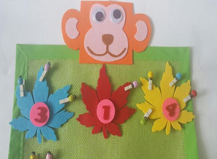 幼儿园区角区域游戏活动操作玩教具 幼儿园自制玩教具
