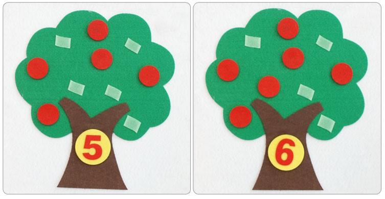 幼儿园手工制作玩教具 幼儿园数学对应游戏玩教具