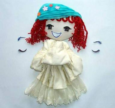 幼儿园娃娃家自制玩教具 手工制作玩具