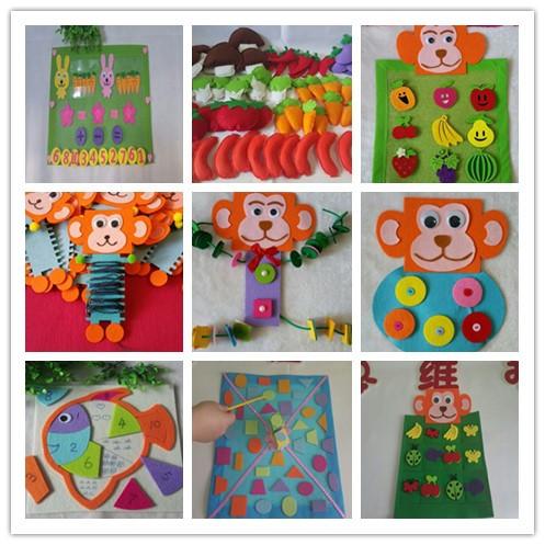 幼儿园自制玩教具 幼儿园活动室玩教具装备 幼儿园区